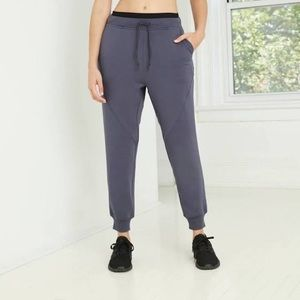 Women's Mid-Rise Cozy Jogger Pants with Drawstring